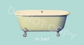 In bad - M