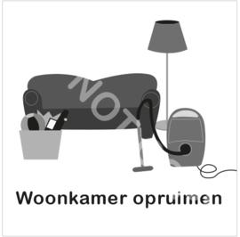ZW/W - Woonkamer opruimen