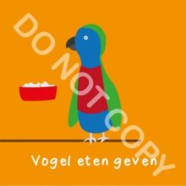 Vogel eten geven (K)