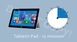 Tablet/I-Pad 15 J/TV