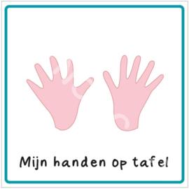 Mijn handen op tafel (LM)