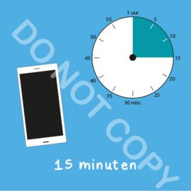 Mobiel tijden 15 min (BT) - T