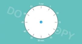 Tijdsduur/klok - Sport & Hobby M