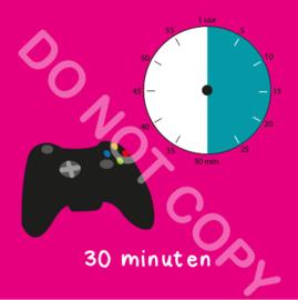 Game tijden 30 min (BT) - R