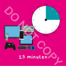 Beeldschermtijd 15 min (BT) - R