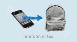 Telefoon in tas - J