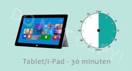 Tablet/I-Pad 30 ALG/TV