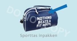 Sporttas inpakken - J