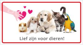 Lief zijn voor dieren! (HR) T/V