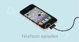 Telefoon opladen - J