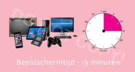 Beeldschermtijd - 15 M/TV