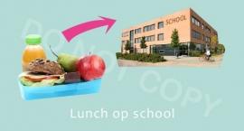 Lunch op school - M