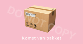 Komst van pakket - T-M/TV