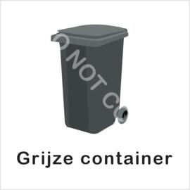 BASIC - Grijze container