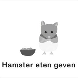 ZW/W - Hamster eten geven