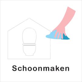 BASIC - WC schoonmaken