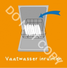 Vaatwasser inruimen (K)