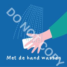 Met de hand wassen (A)