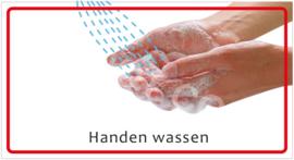 Handen wassen (HR) T/V
