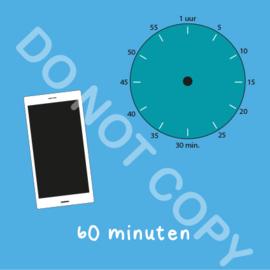 Mobiel tijden 60 min (BT) - T