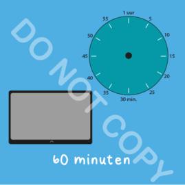 Tablet/I-Pad tijden 60 min (BT) - T