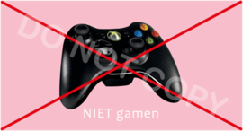 NIET gamen - T-M/TV