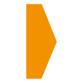 Pijl - Oranje