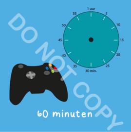 Game tijden 60 min (BT) - T