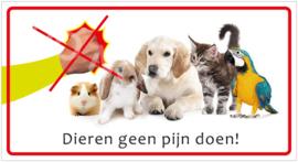 Dieren geen pijn doen! (HR) T/V