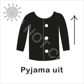 ZW/W - Pyjama uit