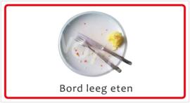 Bord leeg eten (HR) T/V