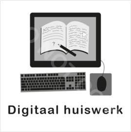 ZW/W - Digitaal huiswerk