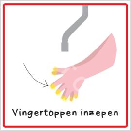 Stap 4 - Vingertoppen inzepen - HR