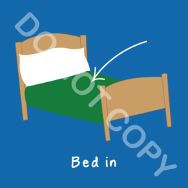Bed in (A)