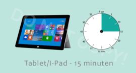 Tablet/I-Pad 15 ALG/TV