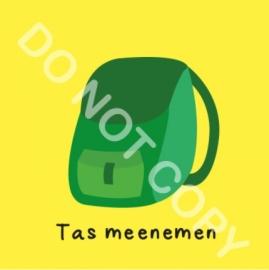 Tas meenemen (O)