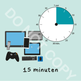Beeldschermtijd 15 min (BT) - M