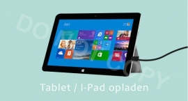 Tablet / I-Pad opladen - M