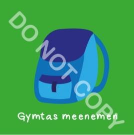 Gymtas meenemen  (S&H)