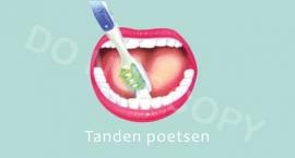 Tanden poetsen - M
