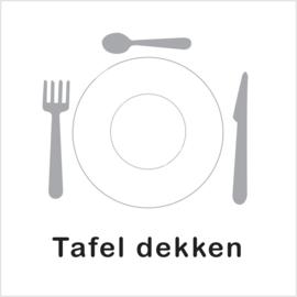 BASIC - Tafel dekken