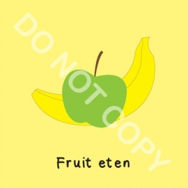 Fruit eten (O)