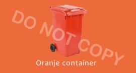 Oranje container - T/V