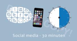Social media 30 J/TV