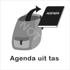 ZW/W - Agenda uit tas