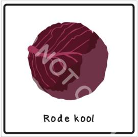 Groente - Rode kool (Eten)