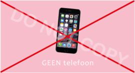 GEEN telefoon - T-M/TV