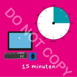 Computer tijden 15 min (BT) - R