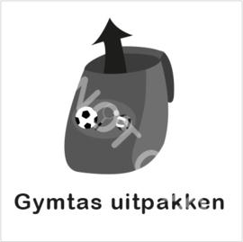 ZW/W - Gymtas uitpakken