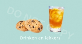 Drinken en Lekkers - M